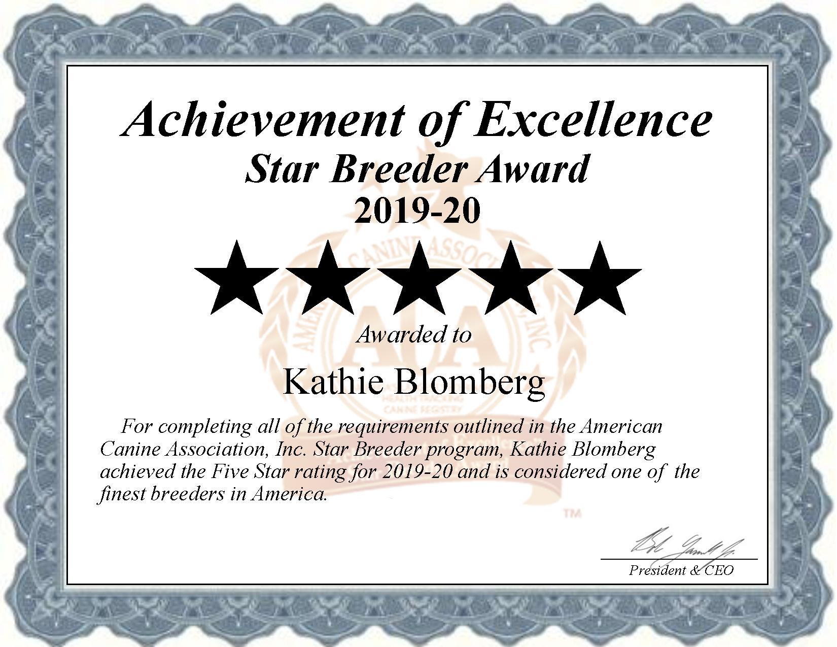 kathie, blomberg, dog, breeder, star, certificate, kathie-blomberg, dog-breeder, versailles, mo, missouri, puppy, kennels, mill, puppymill, usda, 5-star, ACA, ICA, registered, show handler, austrailian, shepherd