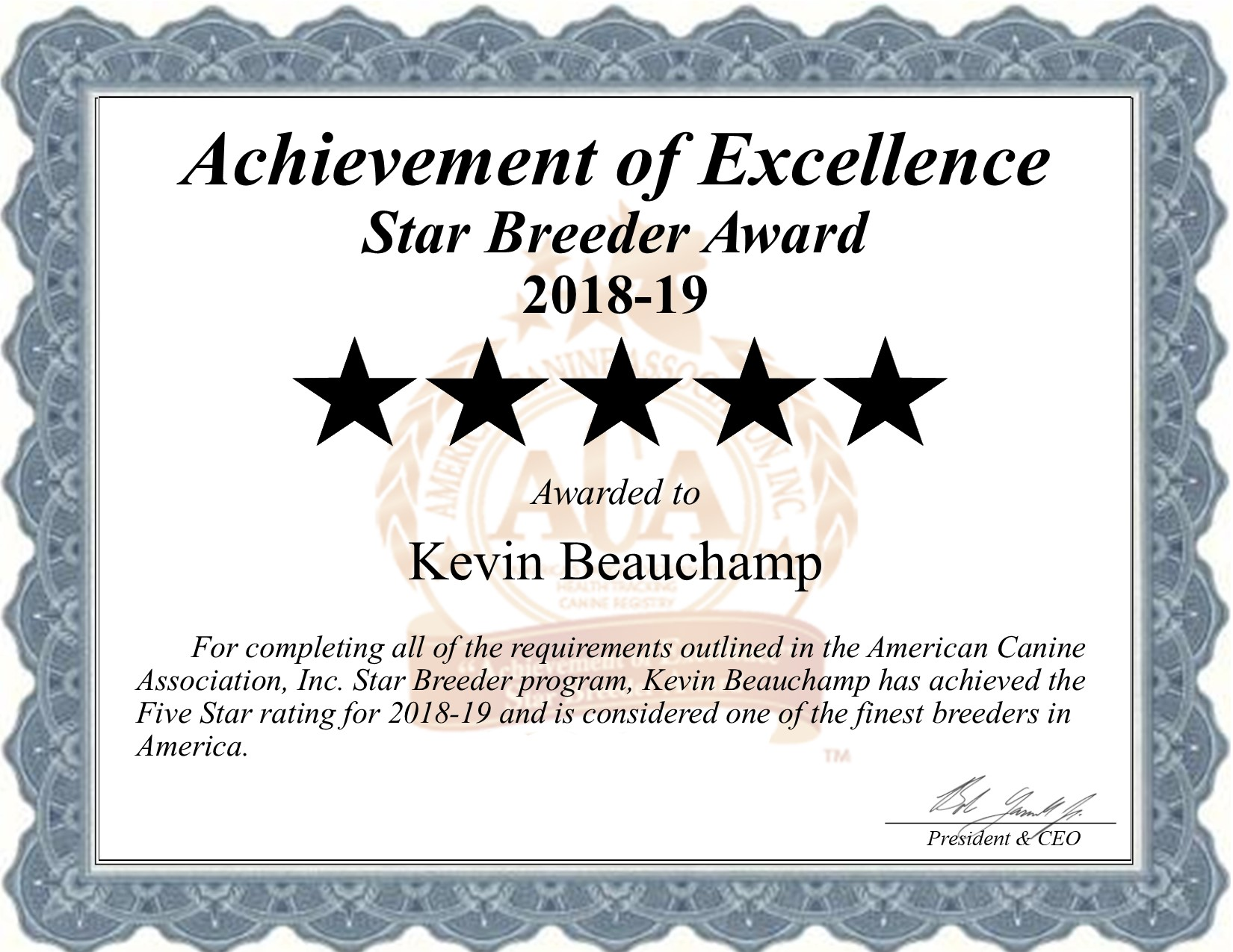 kevin, beauchamp, dog, certificate, breeder, kevin- beauchamp, dog-breeder, lebanon, mo, missouri, usda, puppy, puppies, ACA, ICA, english, bulldog, bull, dog