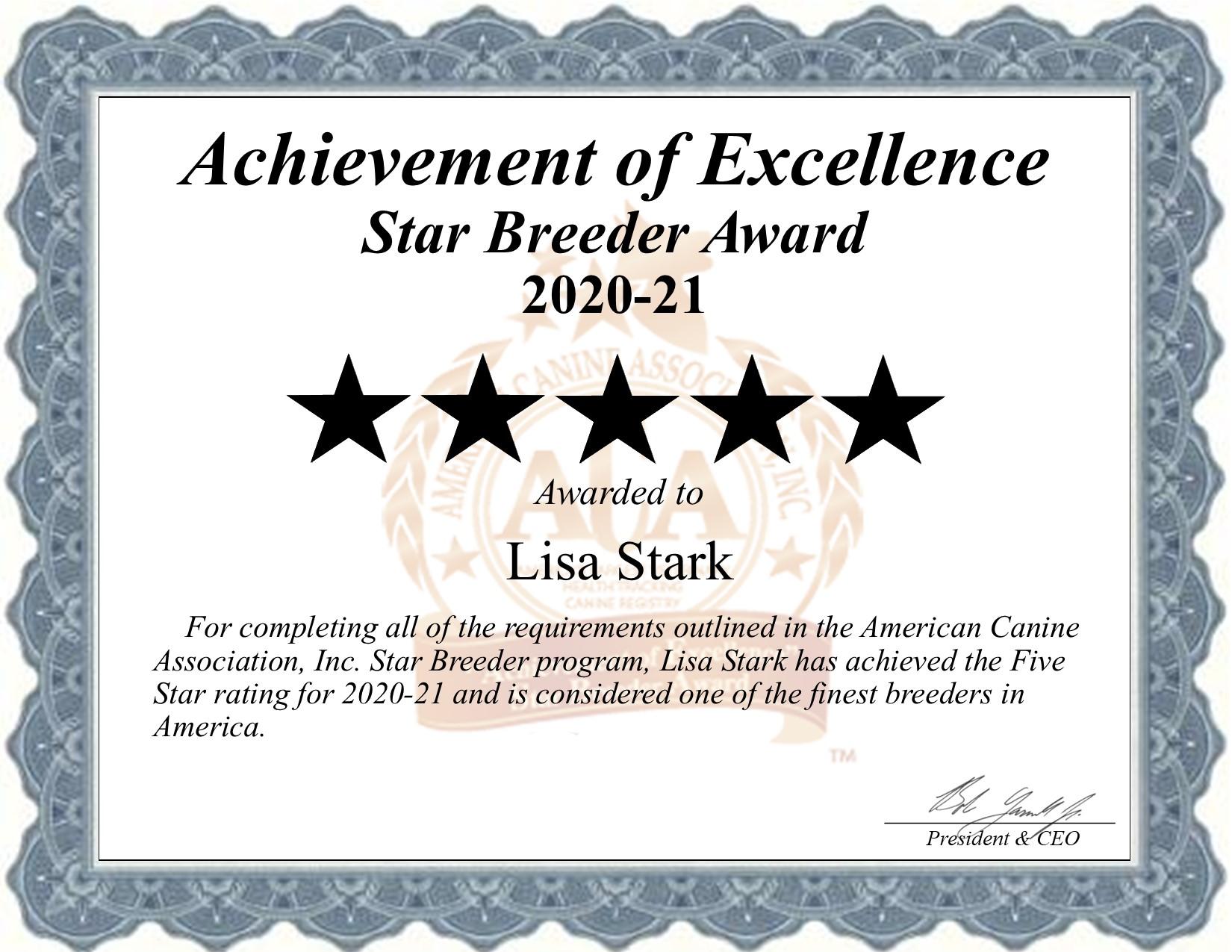 Lisa, Stark, dog, breeder, star, certificate, Lisa-Stark, Barnett, MO, Missouri, puppy, dog, kennels, mill, puppymill, usda, 5-star, aca, ica, registered, yorkie, pug, 43-B-3803
