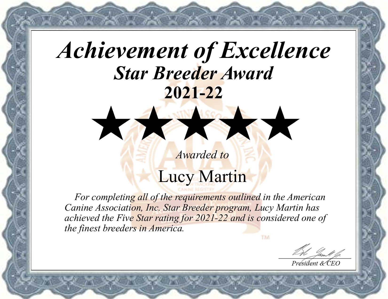 Lucy, Martin, dog, breeder, star, certificate, Lucy-Martin, East Earl, PA, Pennsylvania, puppy, dog, kennels, mill, puppymill, usda, 5-star, aca, ica, registered, Yorkshire, terrier, Pennsylvania