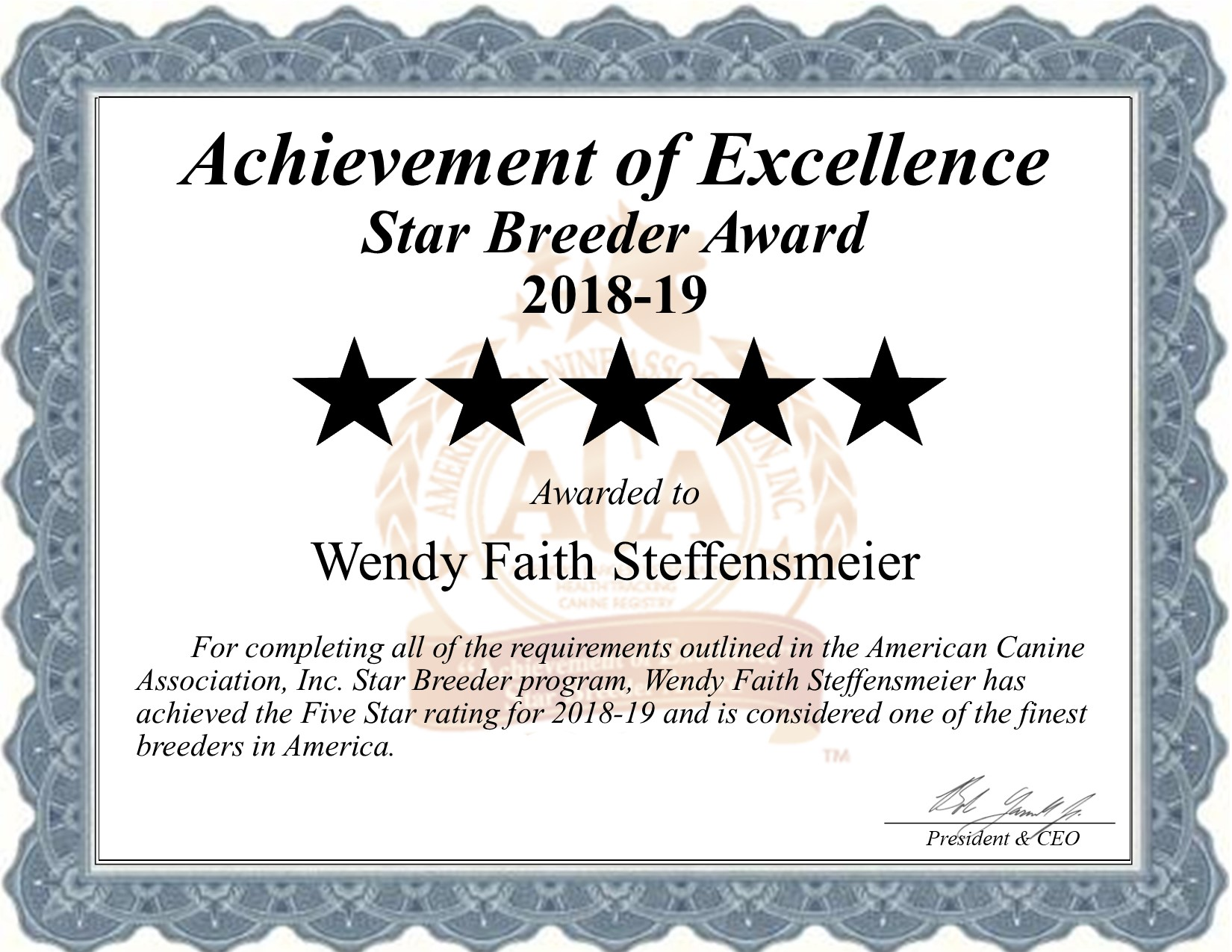 wendy, faith, steffensmeier, certificate, dog, breeder, wendy-steffensmeier, dog-breeder, springfield, mo, missouri, usda, puppy, puppies, ACA, ICA, french, bulldog, bull, dogs, star
