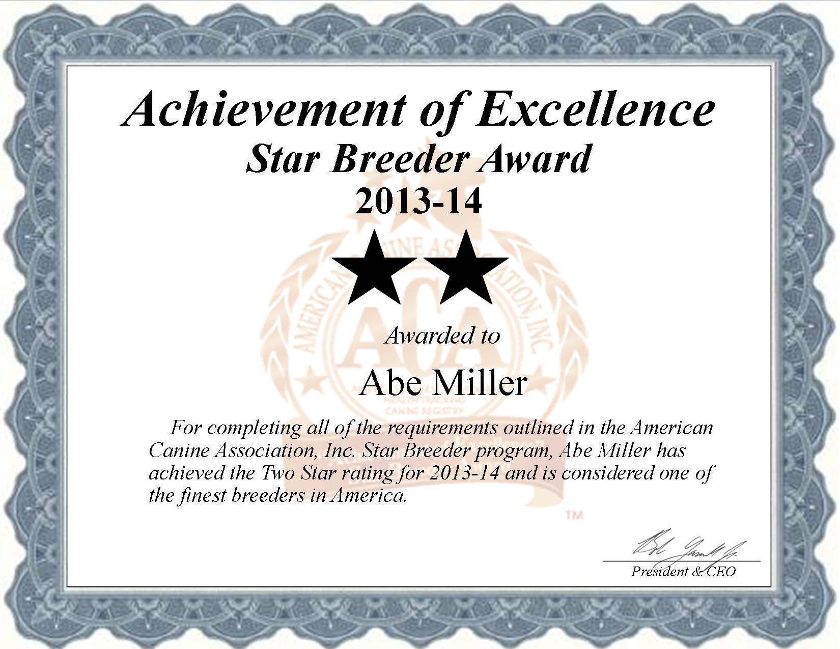 Abe Miller, Miller, abe, Abraham, Miller kennel, broker, house of pets, breeder, star breeder, star breeder, 5 star, ACA, fresno, Ohio, oh, dog, puppy, puppies, five star, professional, show breeder, starbreeders, pet, show breeder, champions