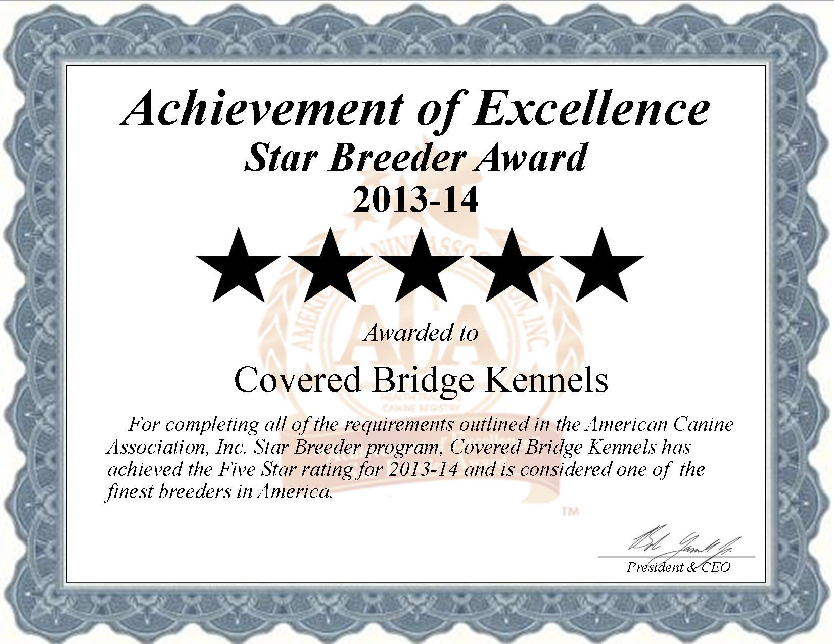 Covered Bridge Kennel, weaverland, Covered Bridge, crestwod, East Earl, PA, Pennsylvania, breeder, star breeder, starbreeder, 5 star, dog, puppy, puppies, five star