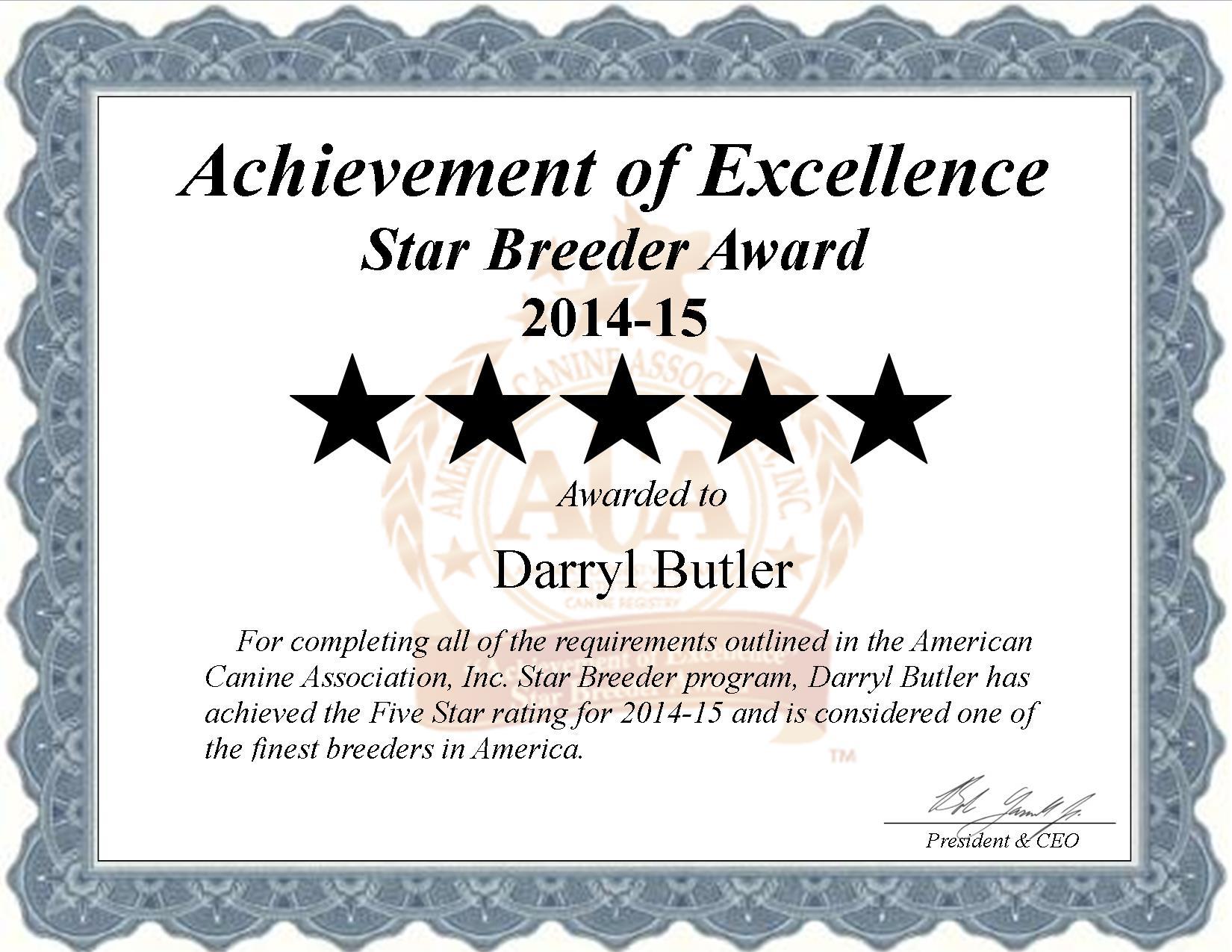 Darryl Butler, Butler, Darryl, Kennel, starbreeder, star breeder, 5 star, USDA, Lancaster, Lancaster County, pet, PA, Pennsylvania, Harrisburg PA, Harrisburg, Doglaw, dog law, dog, puppy, puppies, ACA