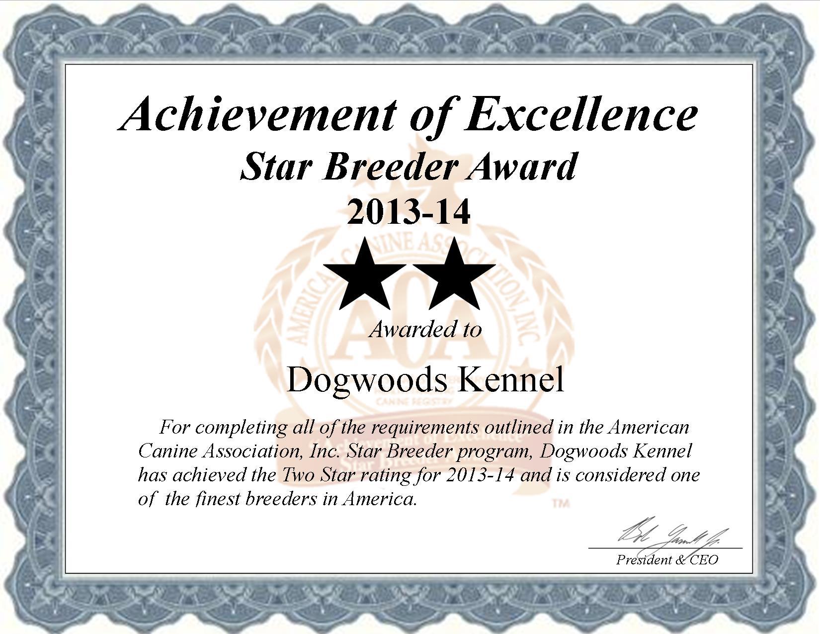 Dogwoods Kennel, dogwoods Kennels, Kennel, dogwoods breeder, star breeder, aca, star breeder, 2 star, Missouri, MO, dog, puppy, puppies, dog breeder, dog breeders, Missouri breeder, Dogwoods Kennel dog breeder