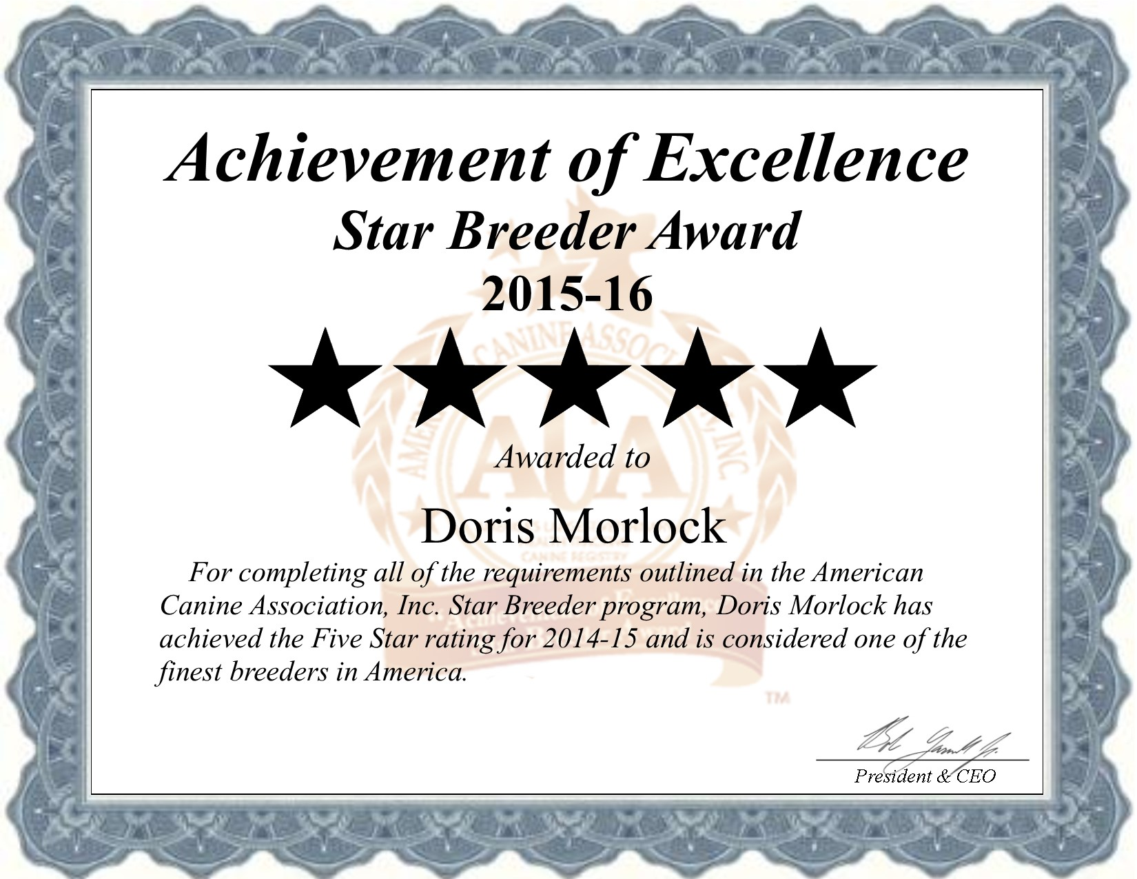 Doris, Morlock, dog, breeder, doris-morlock, dog-breeder, kennel, Morlock Kennels, Kennel, starbreeder, star breeder, 5 star, USDA, KS, Franklin, Kansas, puppymill, mill, puppy-mill, dog law,dog, puppy, puppies, ACA, Doris Morlock Kansas