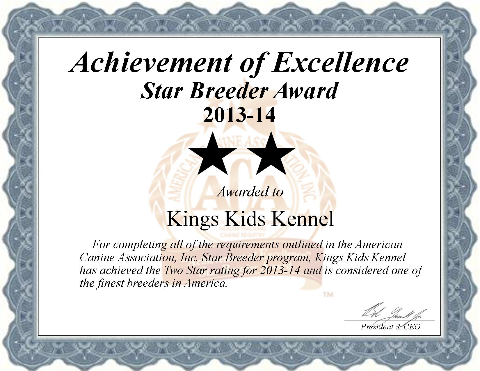Kings Kids, Kennel, Kings Kids Kennel, Susan, Susan Kennel, breeder, star breeder, aca, star breeder, 5 star, Buffalo, Missouri, MO, dog, puppy, puppies, dog breeder, dog breeders, Missouri breeder, Kings Kids Kennel dog breeder