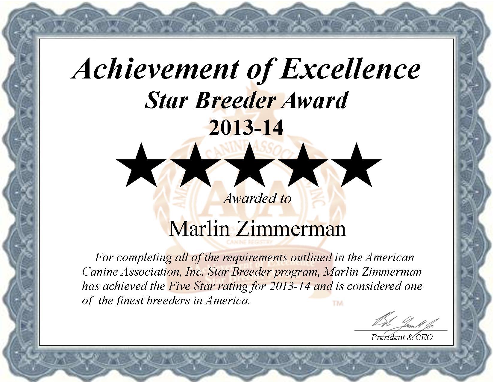 Marlin Zimmerman, Marlin, Zimmerman, Zimmerman kennel, Marlin Zimmerman breeder, East Earl, PA Pennsylvania, east earl pa, breeder, star breeder, 5 star breeders,  starbreeder, starbreeders, 2 star, dog, puppy, puppies