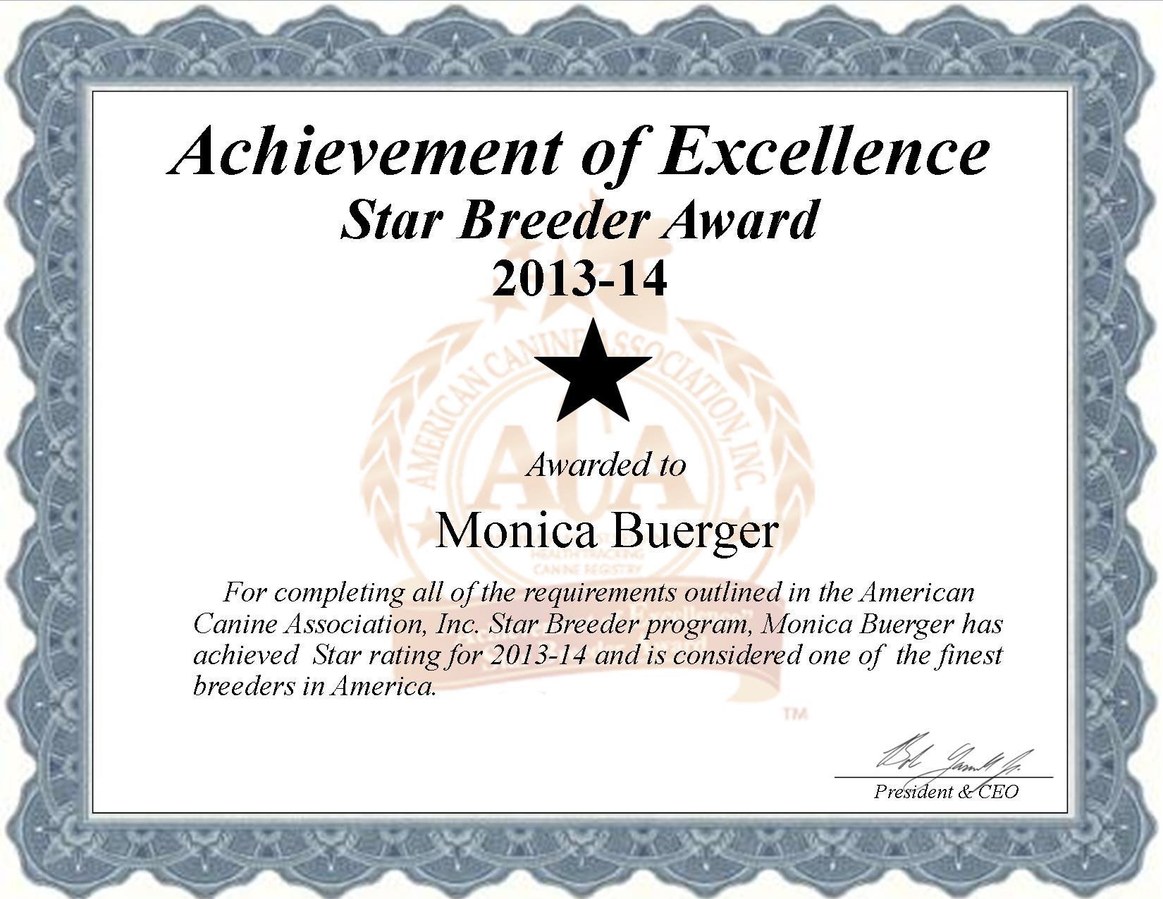 Monica, Buerger, Monica Buerger, Buerger Kennel, breeder, star breeder, aca, star breeder, 5 star, Buffalo, Texas, TX, dog, puppy, puppies, dog breeder, dog breeders, Texas breeder, Monica Buerger dog breeder