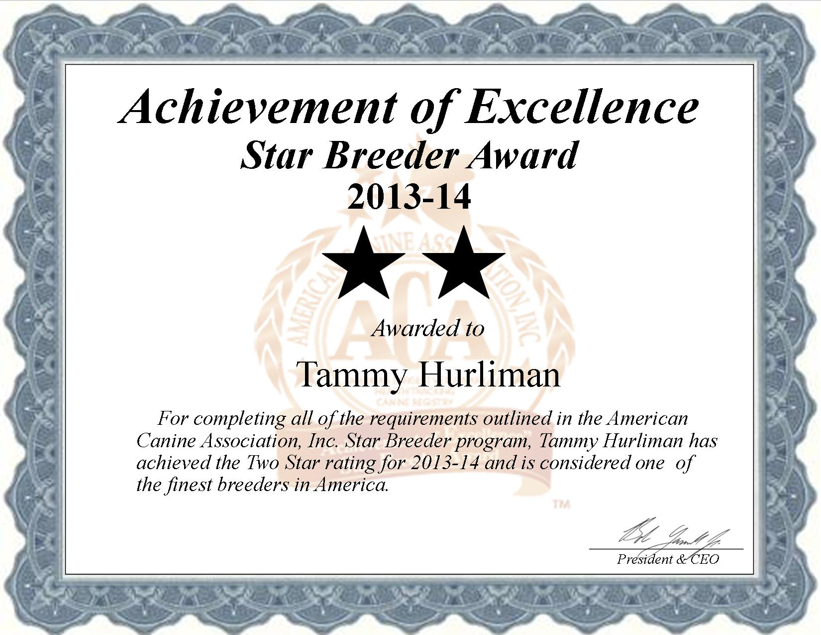Tammy Hurliman, Hurliman Kennel, Hurliman do breeder, star breeder, aca, star breeder, 2 star, cordell, Oklahoma, ok, dog, puppy, puppies, dog breeder, dog breeders, Oklahoma breeder, Tammy Hurliman dog breeder