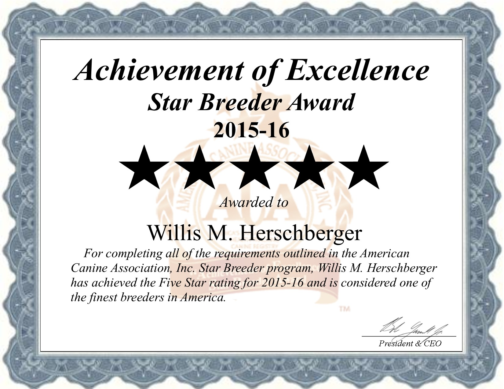 Willis, Herschberger, dog, breeder, Willis-Herschberger, dog-breeder, kennel, Herschberger Kennels, Kennel, starbreeder, star breeder, 5 star, USDA, OH, Fresno, Ohio, puppymill, mill, puppy-mill, dog law,dog, puppy, puppies, ACA, Willis Herschberger Ohio
