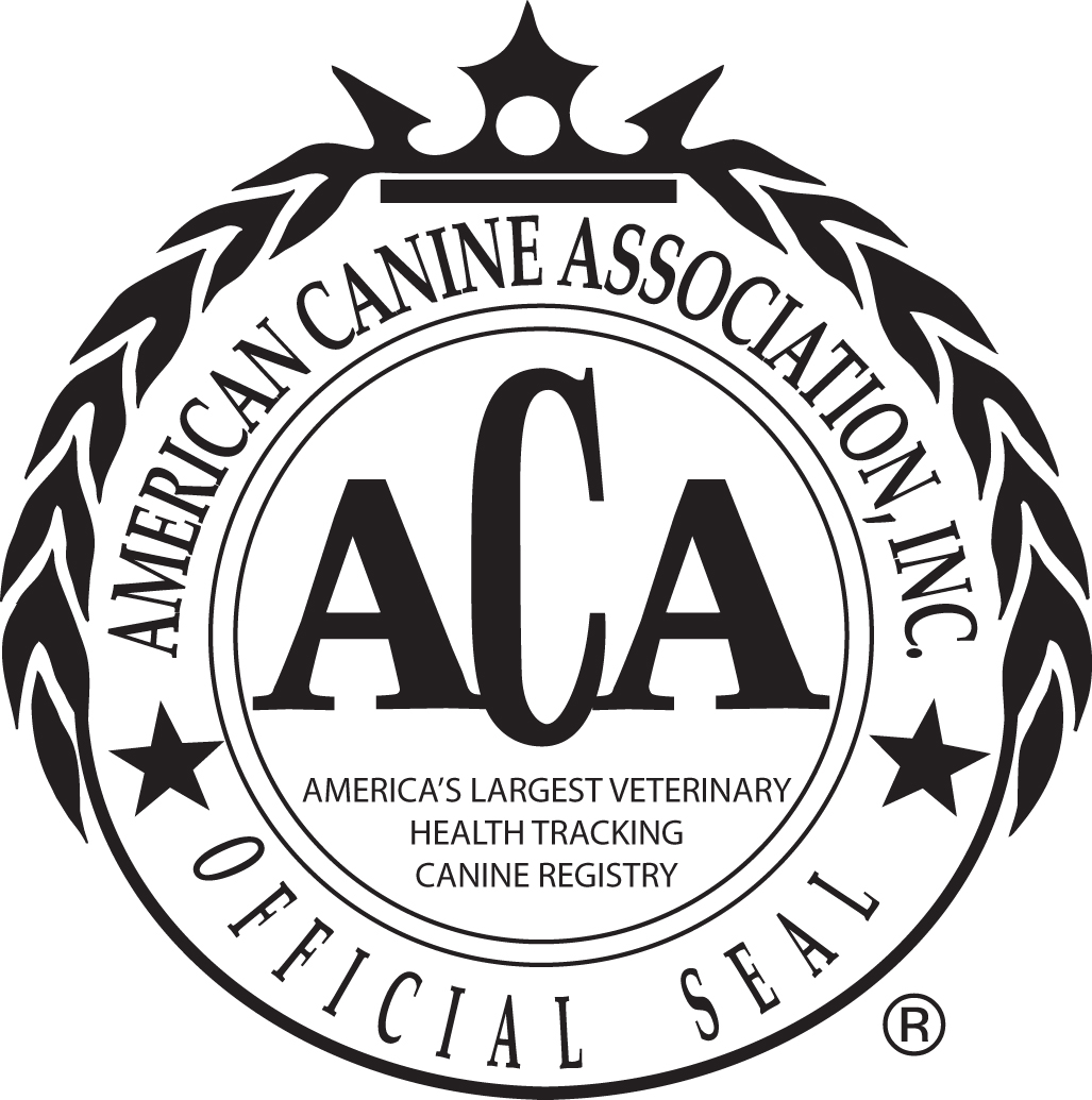 aca dog logo, Harriet Boggs Niangua, MO star dog breeder